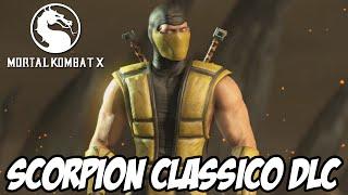 Mortal Kombat X - Scorpion Clássico ROUPA NOVA DLC