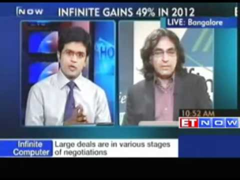 Infinite Computer FY 13 revenue guidance at 30%