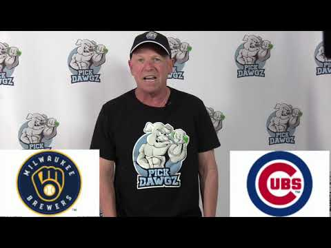 Chicago Cubs vs Milwaukee Brewers Free Pick 7/25/20 MLB Pick and Prediction