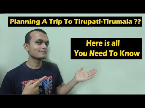 Tirupati Tirumala Travel Guide