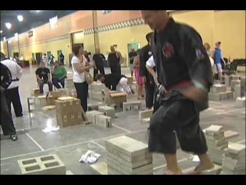 Highlights of the USBA/WBA Breaking Championships at the 2009 U.S. Open World Karate Championships