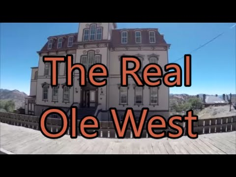 Our Old West Vacation...Amazing Virginia City Guided Tour (Part 5)