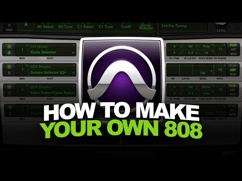 Pro Tools Beat Making Tutorial | How To Make Your Own 808 + BEST Method For 808 Glides