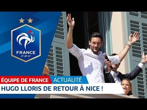 Hugo Lloris back in Nice! | FFF 2018