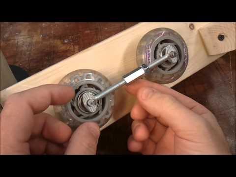 Weird strip or belt sander (on the lathe)