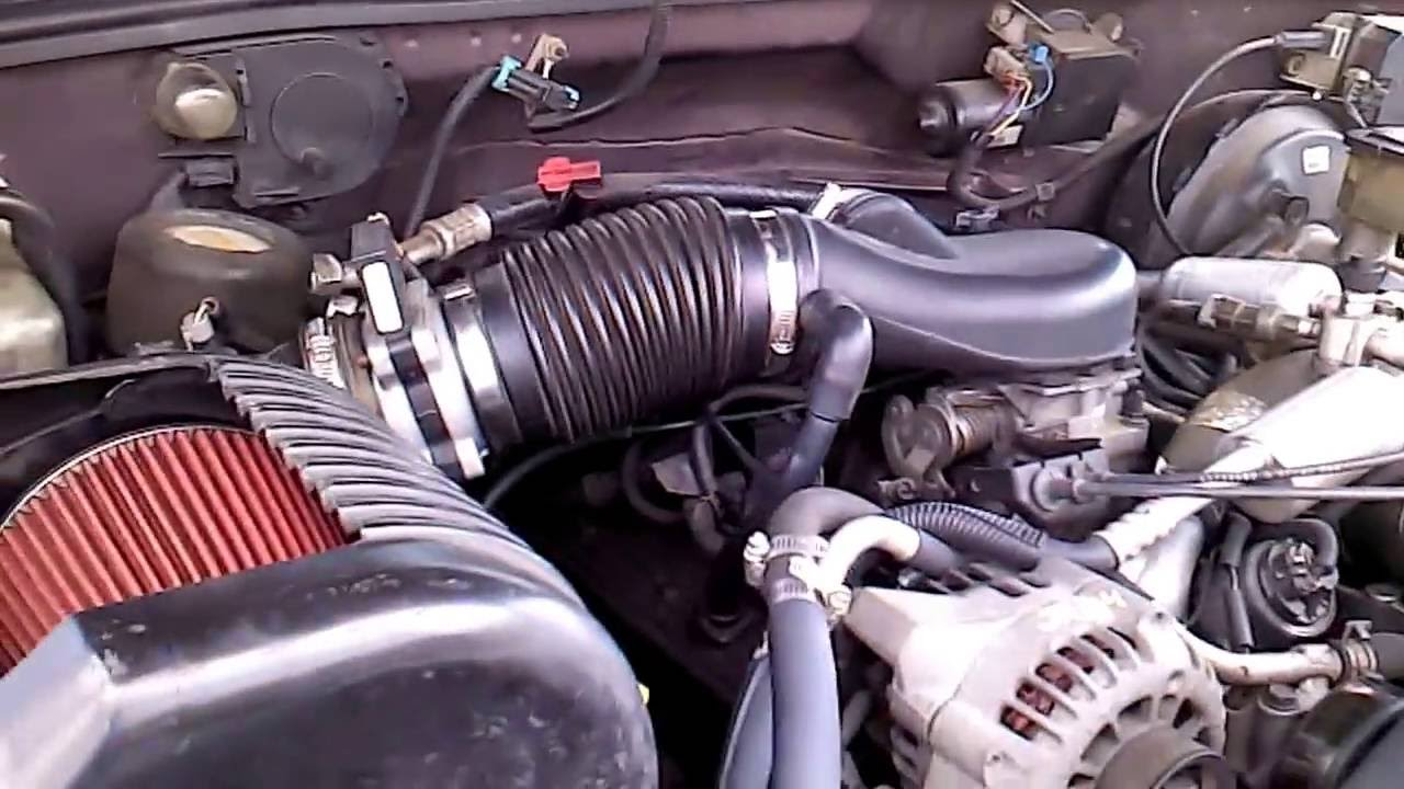 Tahoe 2002 chevy tahoe engine : Diy cai cold air intake Chevy Tahoe 5.7 vortec 1500 - YouTube