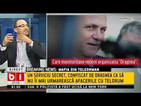 TALK B1- RISE PROJECT: MAFIA DIN TELEORMAN, TUNURILE LUI DRAGNEA CU TELDRUM   P 1 DIN 2