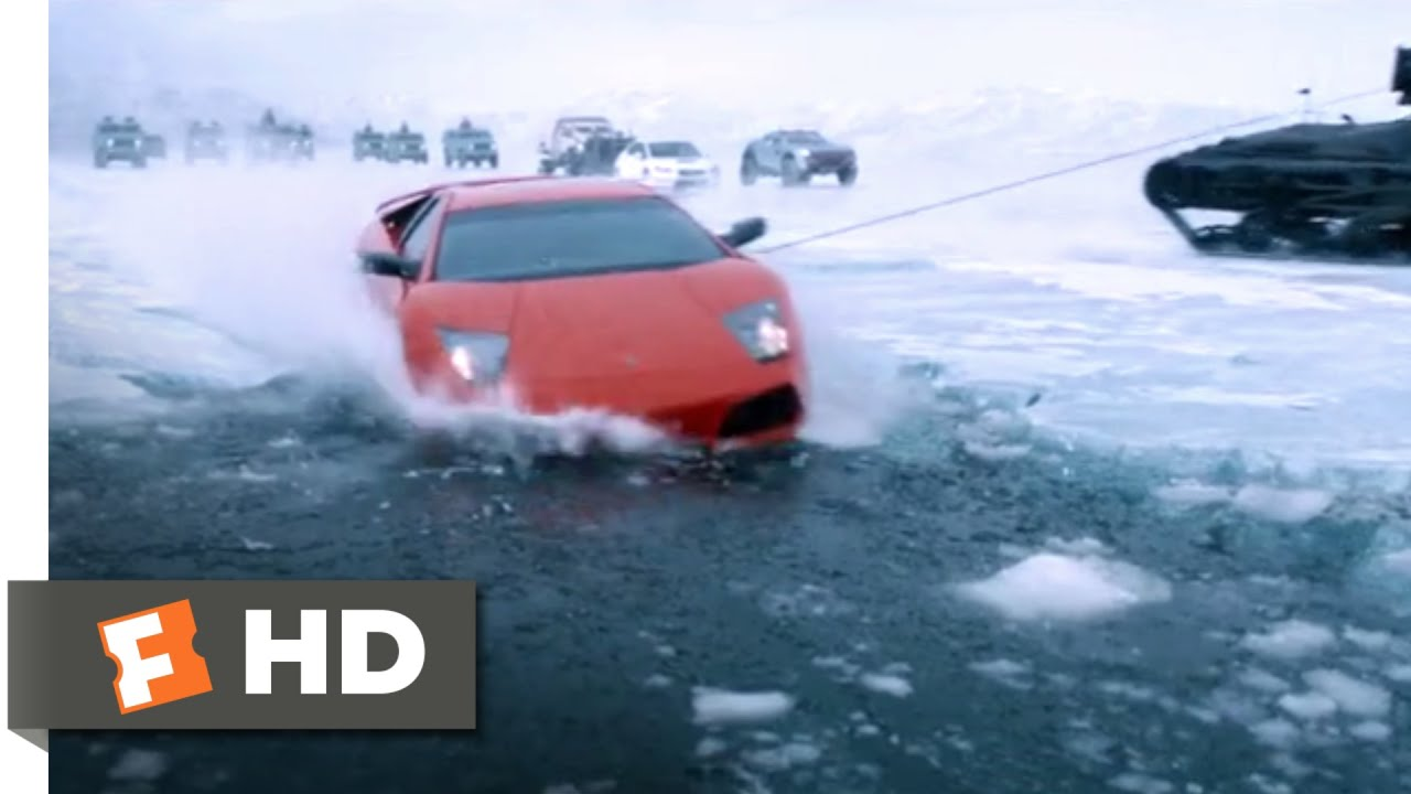 The Fate Of The Furious 2017 Roman Goes Swimming Scene 7 10