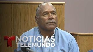 Libertad condicional para O.J. Simpson | Noticiero | Noticias Telemundo