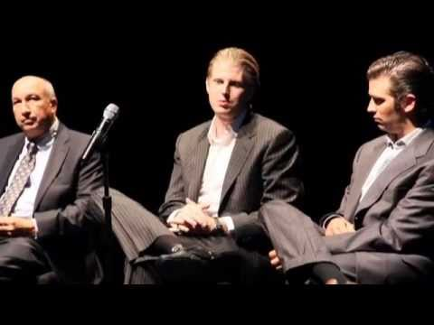Donald Trump Jr., Eric Trump, & Dan Costa - Q & A Forum Giving Business Advice