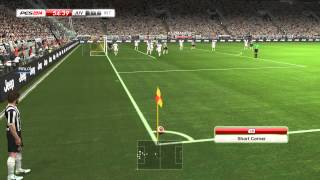 PES 2014 - Juventus vs Inter Gameplay PC