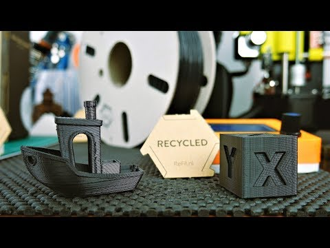 ♻ Recycled ABS from Car Dashboards - ReFil ABS - Filament Review