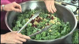 Home Cuisine's Kale And Feta Salad With Quinoa