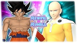 ULTRA INSTINCT GOKU vs SAITAMA! (Dragon Ball Super vs One Punch Man 3D Animation) | REWIND RUMBLE!