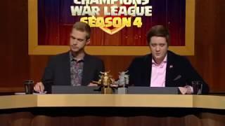 Dark Looters Z vs North Watchers | All Th10 v Th10 War Attacks | Champions War League Season 4