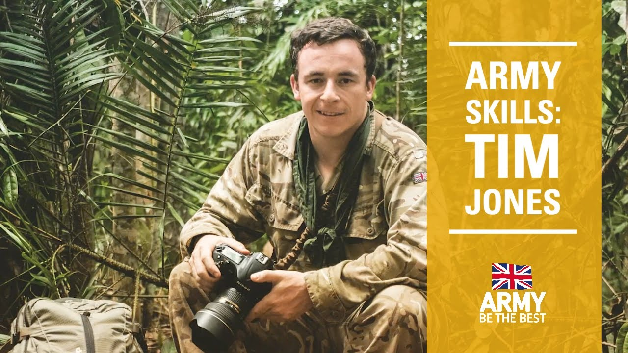 Tim Jones | Army Skills | British Army
