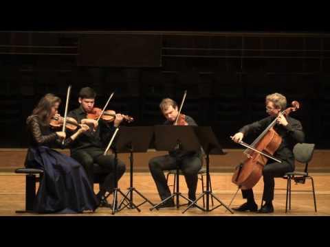 Mendelssohn Quartett e moll Satz 2 | Eliot Quartett