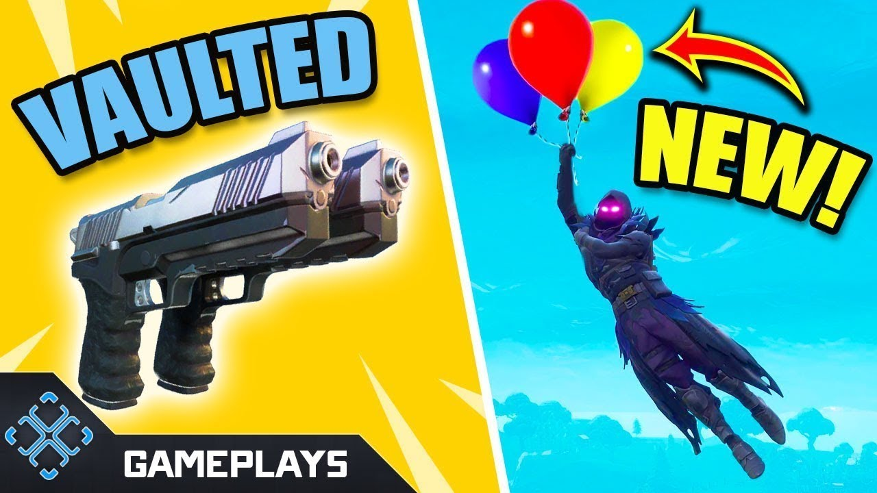 New Fortnite Balloons Items Update | Dual Pistols Vaulted! | Fortnite Battle Royale