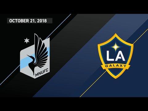 HIGHLIGHTS: Minnesota United FC vs. LA Galaxy | October 21, 2018