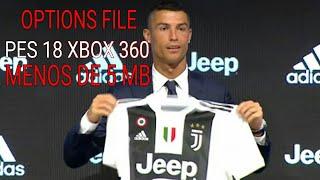 OPTIONS FILE PES 18 XBOX 360....LOGOS,EBLEMAS,UNIFORMES E ELENCOS ATT