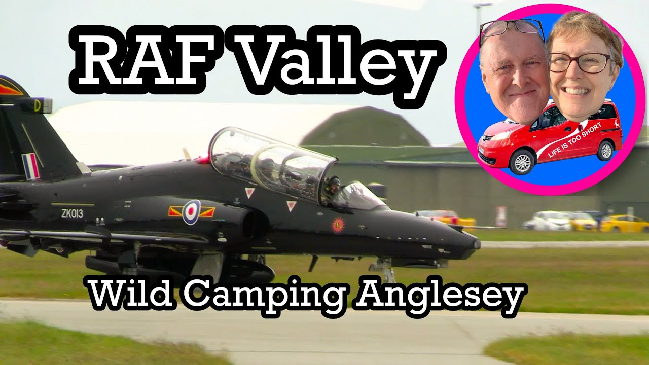 Wild camp Anglesey - RAF Valley - YouTube
