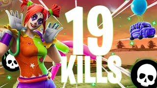 19 KILLS WITH THE NEW PEEKABOO SKIN!!! (FORTNITE BATTLE ROYALE GAMEPLAY)