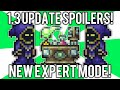 Terraria 1.3 Spoilers: Expert Mode, Over 3,000 Items, Release Date & Beta Testing Updates! // demize