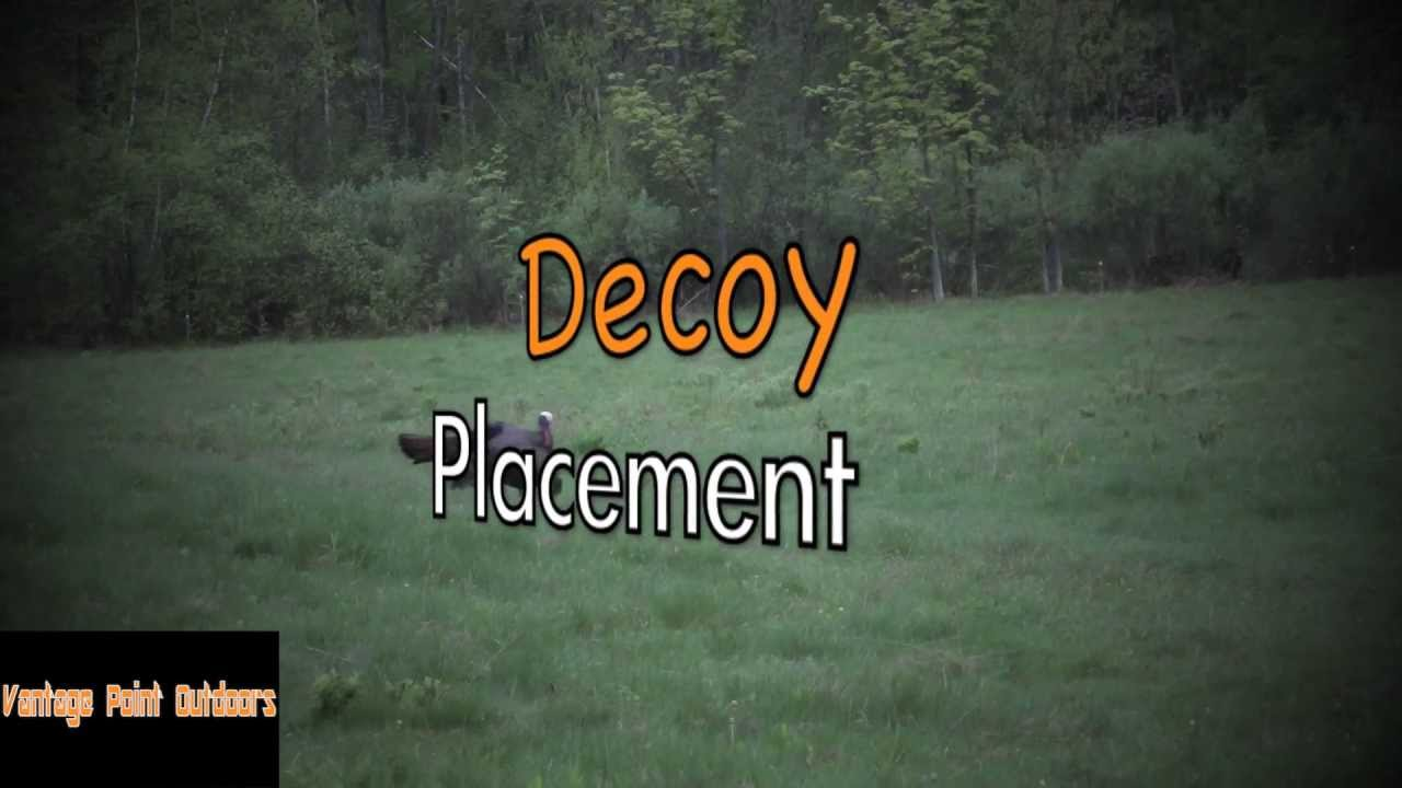 Turkey Decoy Placement Tips Quot The Vpo Minute Quot S6 Youtube