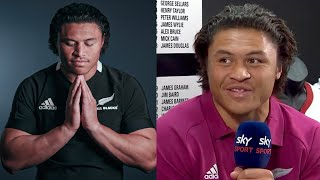 How Caleb Clarke Told His Family He'd Made The All Blacks | Rugby News | RugbyPass