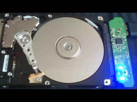 """Щёлкает жёсткий диск 2,5"""" Samsung для ноутбука"""
