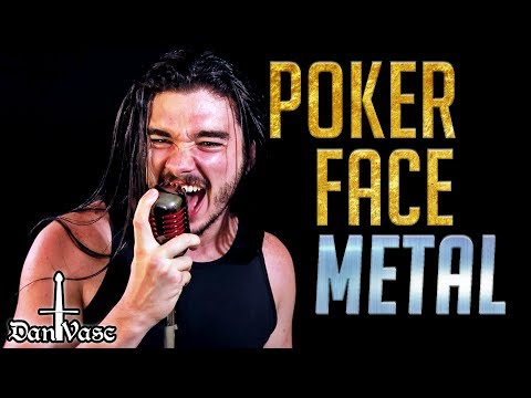 Poker Face - LADY GAGA Cover (Metal) Ft. Victor The Guitar Nerd