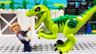 Lego Jurassic World - Raptor Escape Jurassic Park