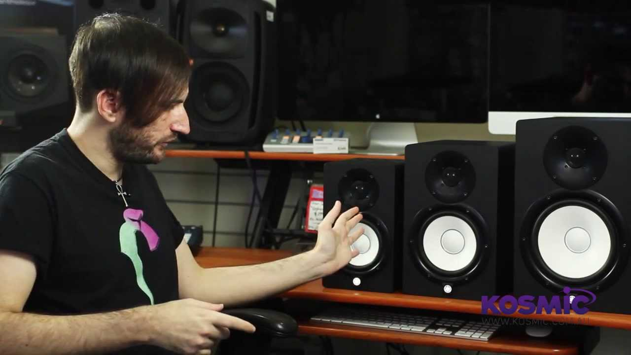 Yamaha hs series studio monitors youtube for Yamaha hs5 no bass