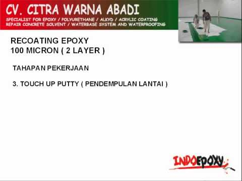 Recoating Epoxy