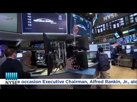 Hamilton Beach Brands Holding Company (NYSE: HBB) Rings The NYSE Closing Bell®