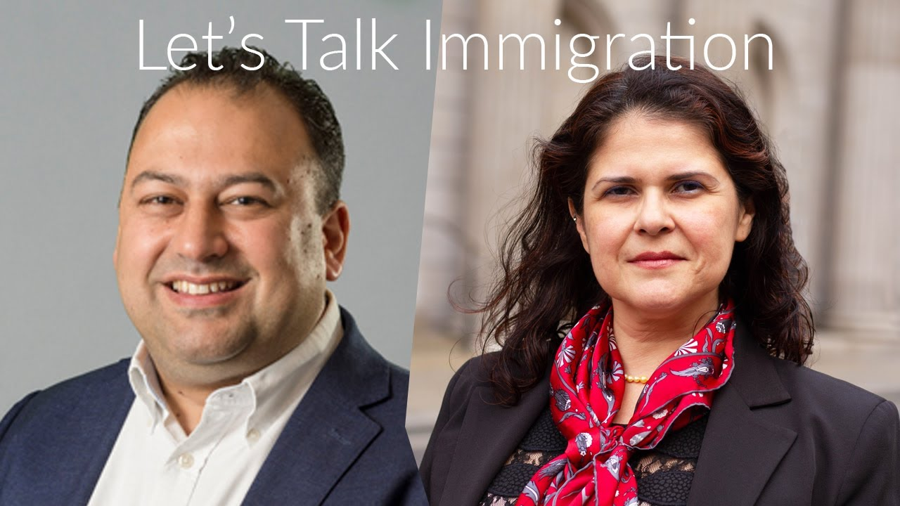 Let's talk immigration, with Immigration Lawyers Chris Dias & Vitoria Nabas