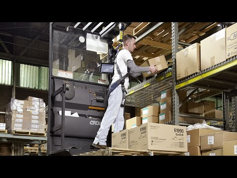 Baumann Paper Company Maximizes Safety And Productivity With Crown SP Series