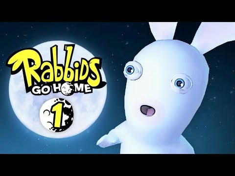 Rabbids Go Home - 1 - A Raving Rabbid Adventure! (2 Player)