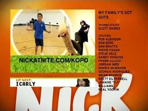Nickelodeon Split Screen Credits September 27, 2008