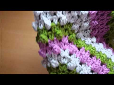 Quick Easy Crochet Hexagon Baby Blanket Free Pattern Youtube