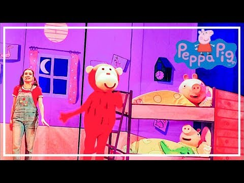 """""""The red monkey"""" Funny Bedtime Story for Peppa & George. Peppa Pig Live Surprise"""