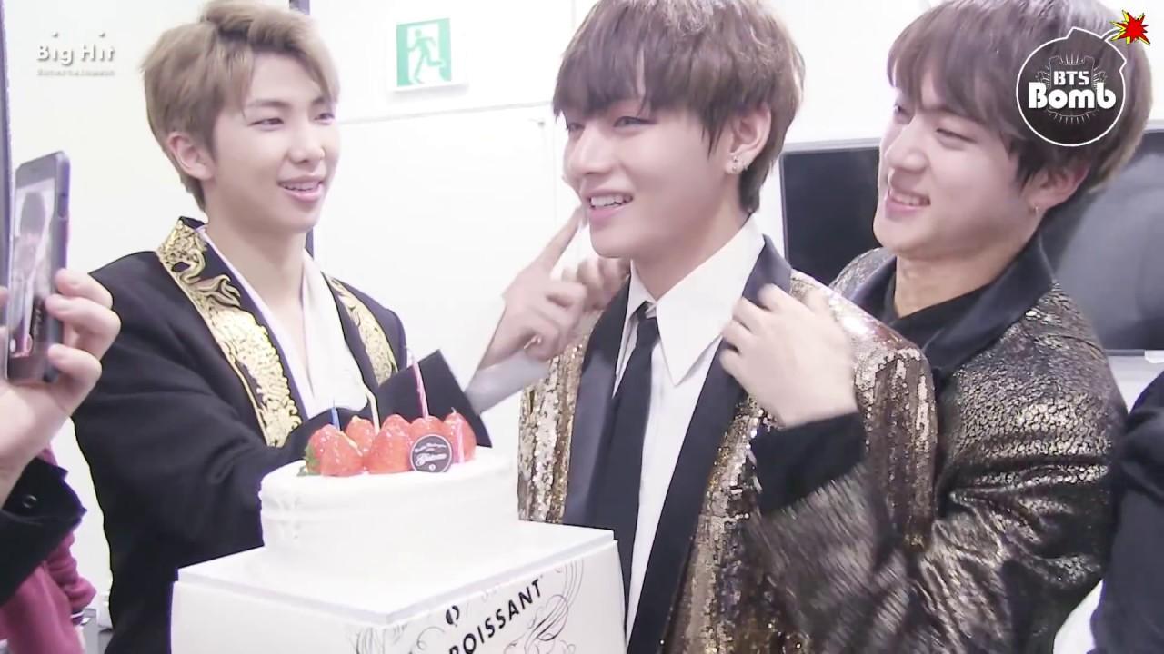 bts v birthday BANGTAN BOMB] Happy Birthday to V @ KBS 가요대축제 2016   BTS  bts v birthday