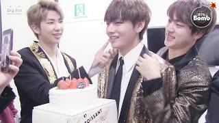 [BANGTAN BOMB] Happy Birthday to V @ KBS 가요대축제 2016 - BTS (방탄소년단)