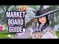 FFXIV 2.0 0121 The Marketboard (60 Sec Guide)