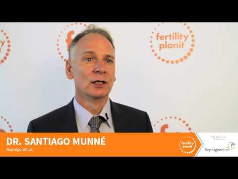 Dr. Santiago Munne, co-Founder of Reprogenetics, FP13NY presenting sponsor