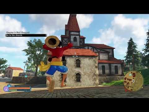 One Piece World Seeker Gameplay  