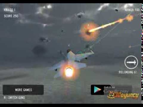 3D Uçak Savaşı - 3D Oyunlar