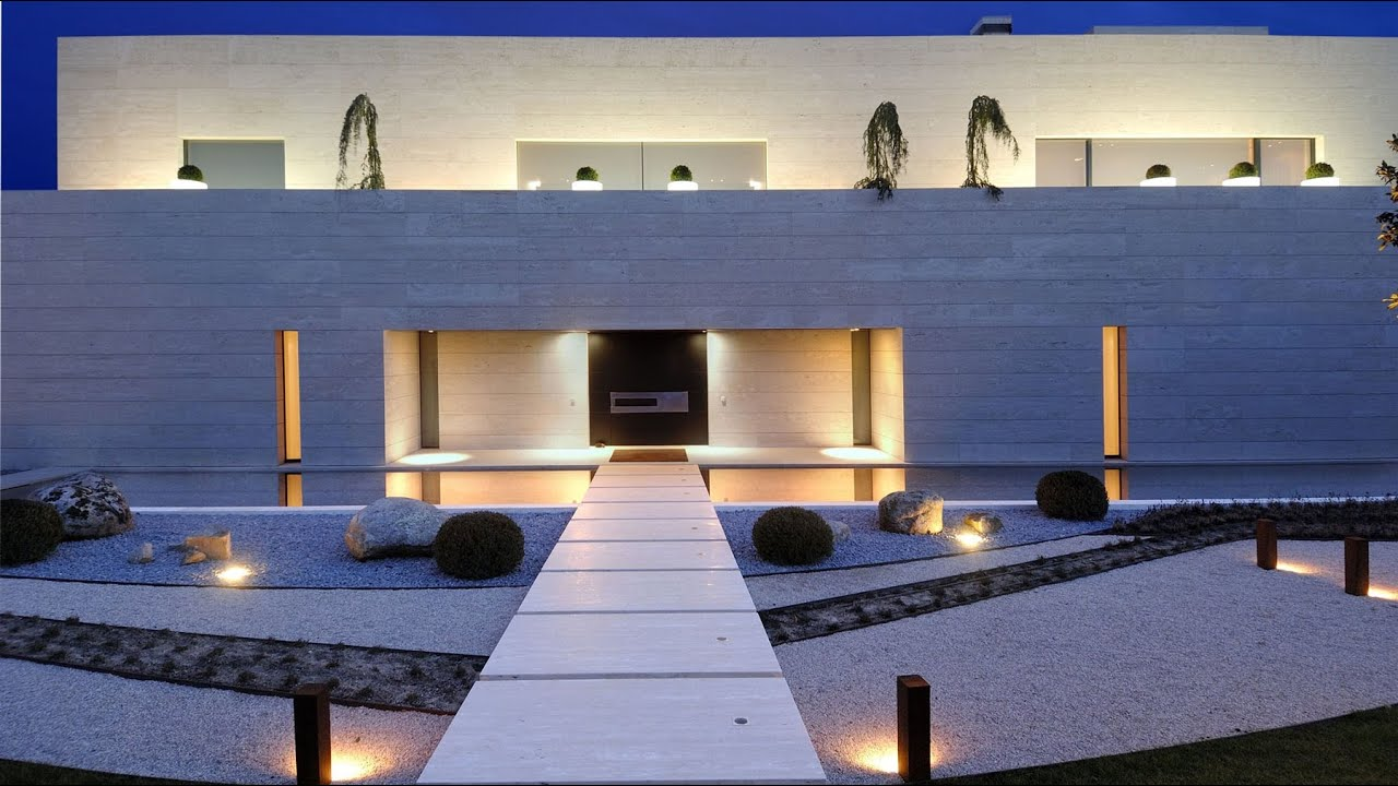 Exceptional Luxurious Modern Contemporary Residence In Madrid, Spain (by A Cero)    YouTube Nice Look