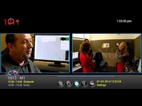 MegaSat Mediabox -- Μενού Λειτουργίες