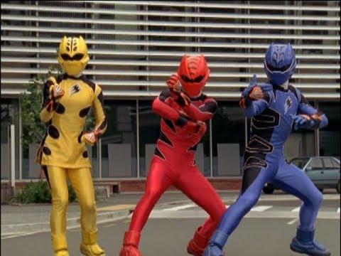 Power Rangers Jungle Fury - Good Karma, Bad Karma - Power Rangers vs Slickagon Round 1 (Episode 9)